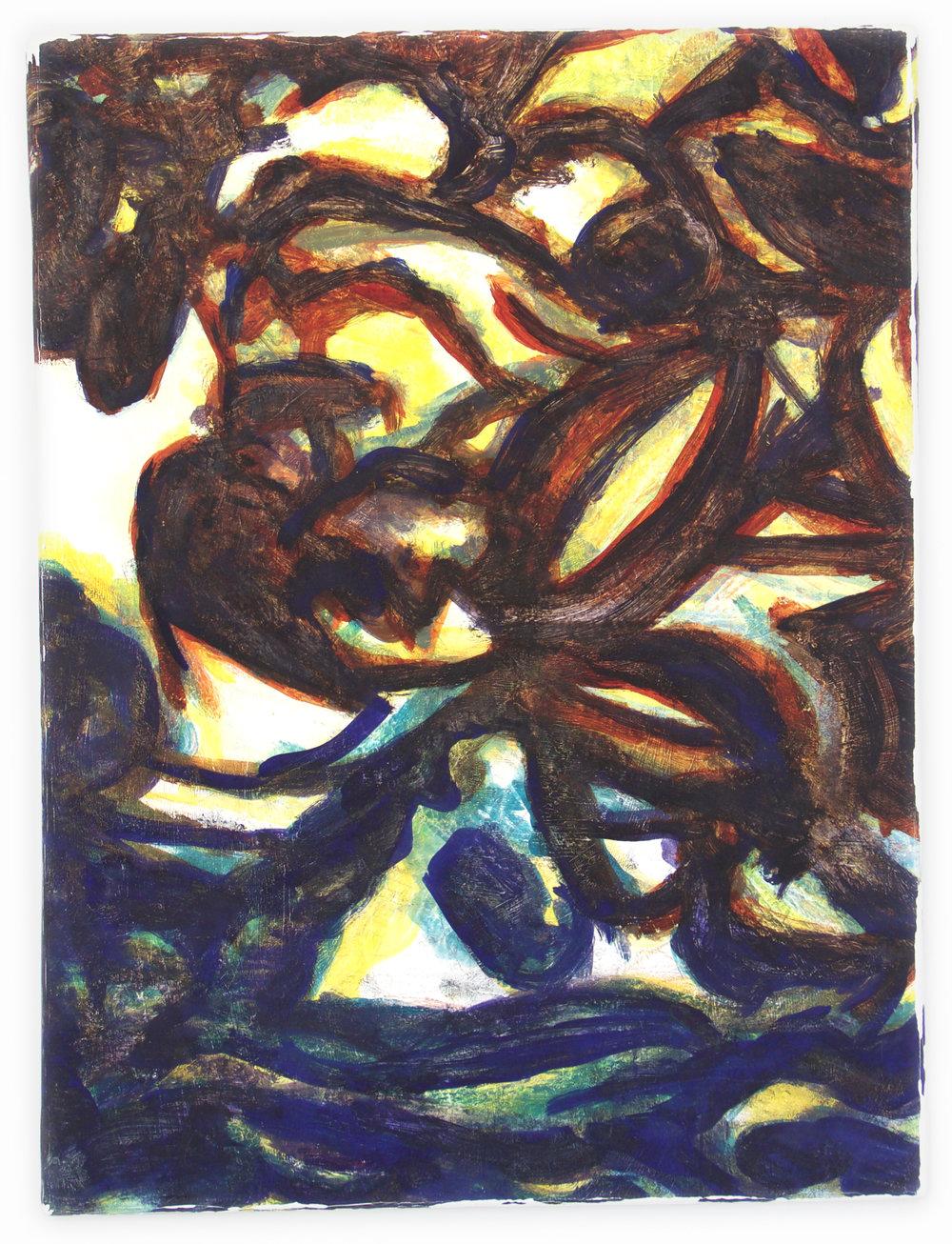 """Dawn   24""""X18""""  oil on canvas"""