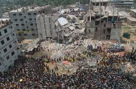 2013 Rana plaza factory collaspe