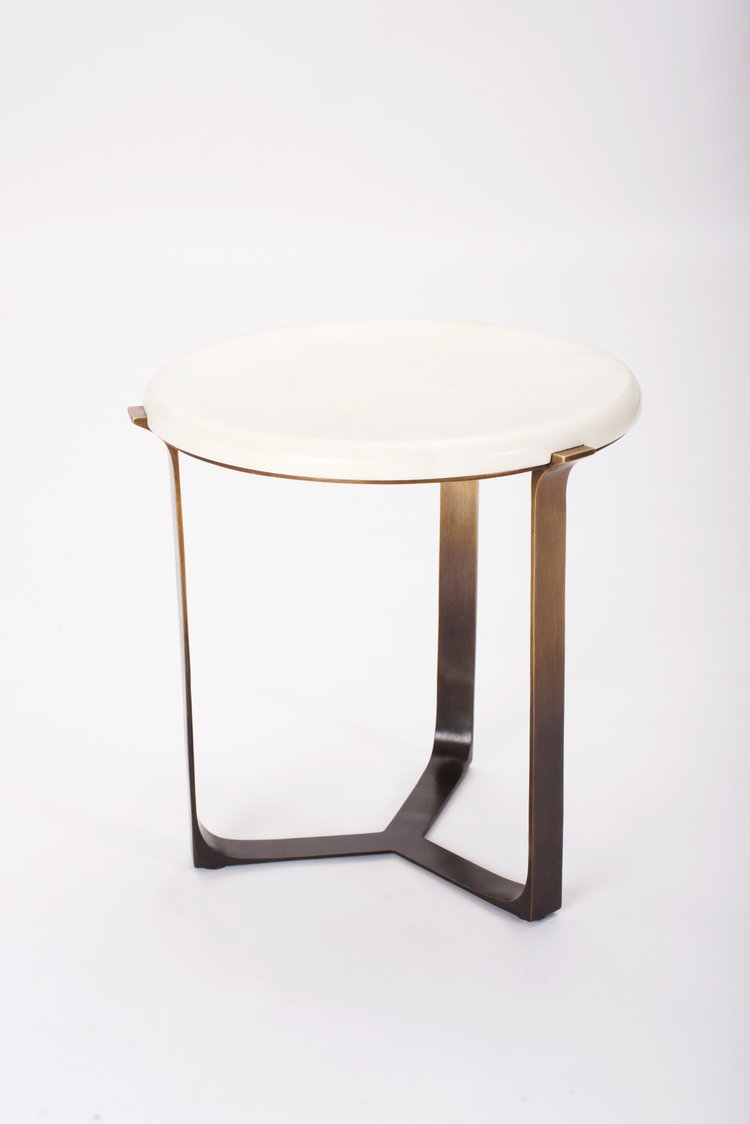 Arch Round Side Table — Elan Atelier