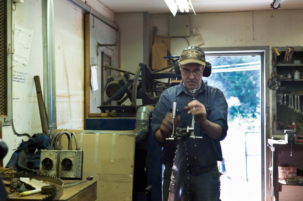 Rick sharpening saws