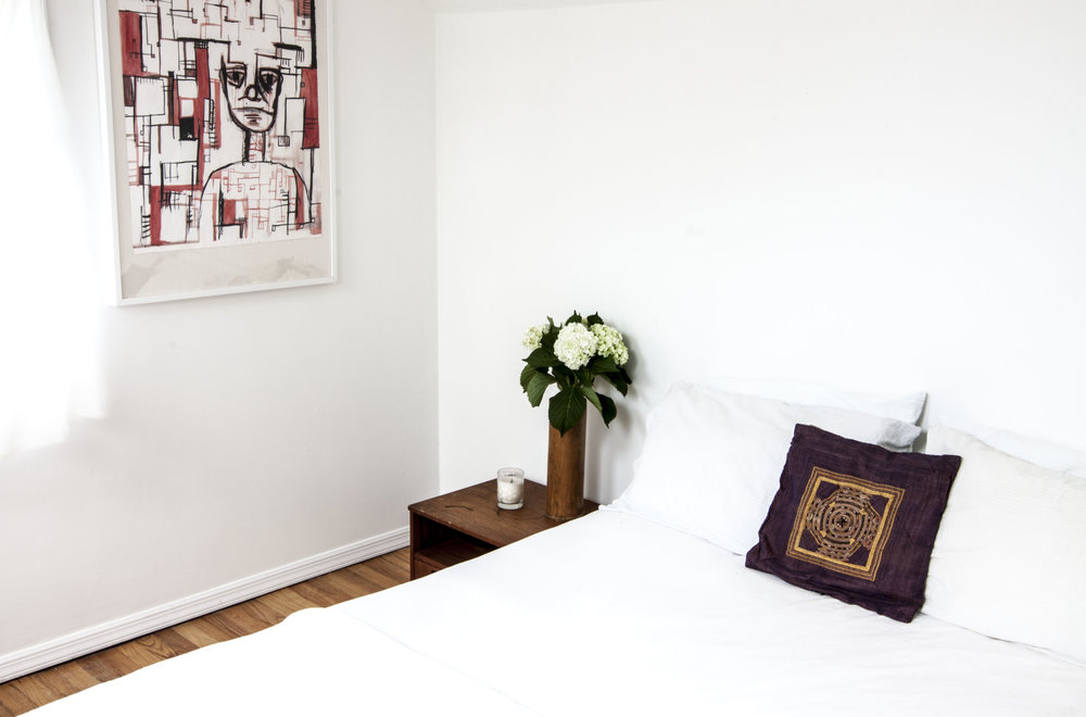 Amagansett Beach House Bedroom Minimal
