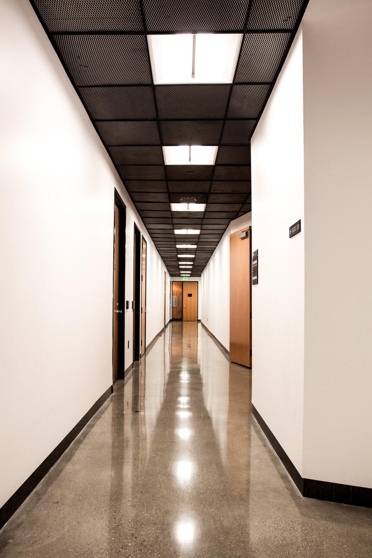 Newport Office Complex hallway