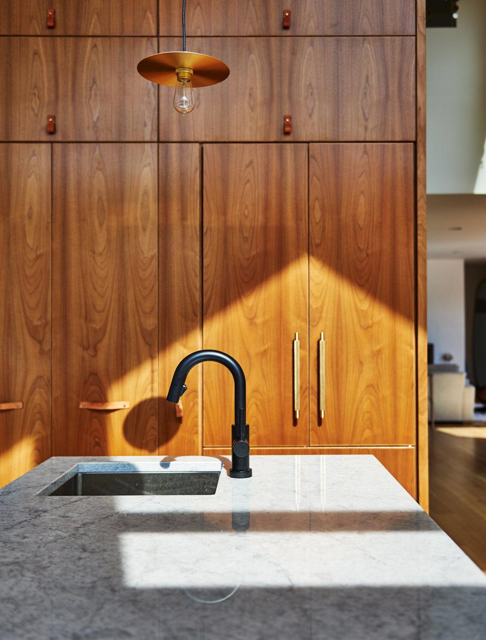 Black Brizo faucet