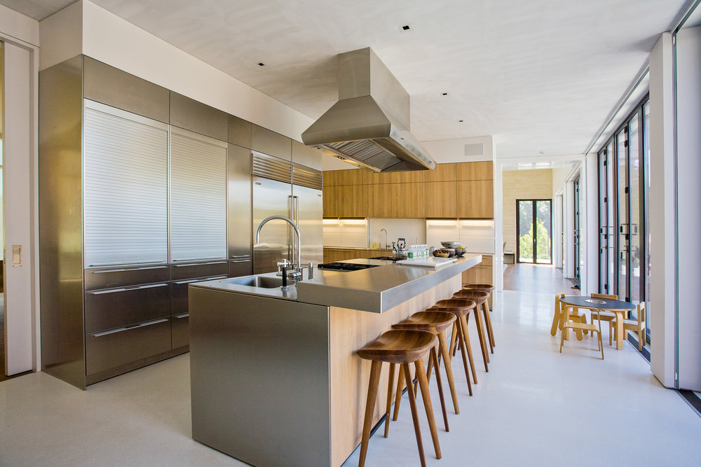 Bridgehampton kitchen stainless steel modern