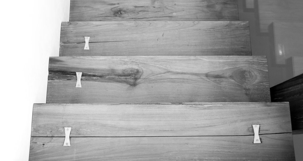 Bridgehampton stair dovetail detail
