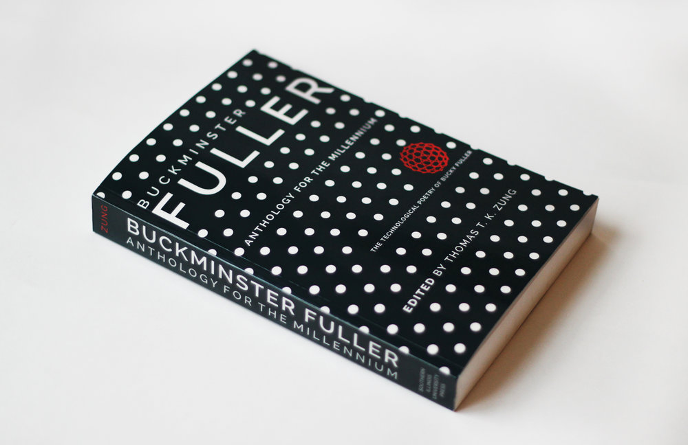 Buckminster Bucky Fuller Book architecture geodesic dome   book cover graphic design