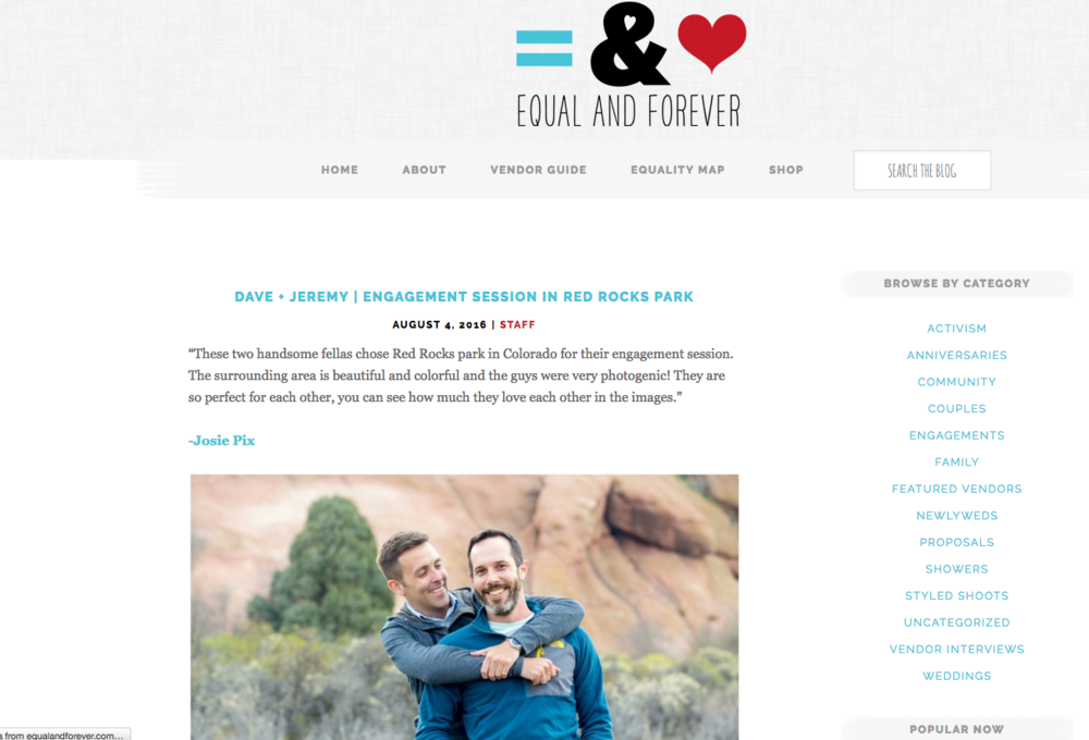 http://equalandforever.com/dave-jeremy-engagement-session-in-red-rocks-park/