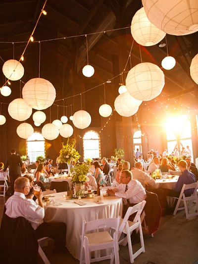 Outdoor Paper Lantern Lights Lighting secrects for any wedding knzo entertainment llc 7hanging paper lanterns outdoor wedding lightingg workwithnaturefo