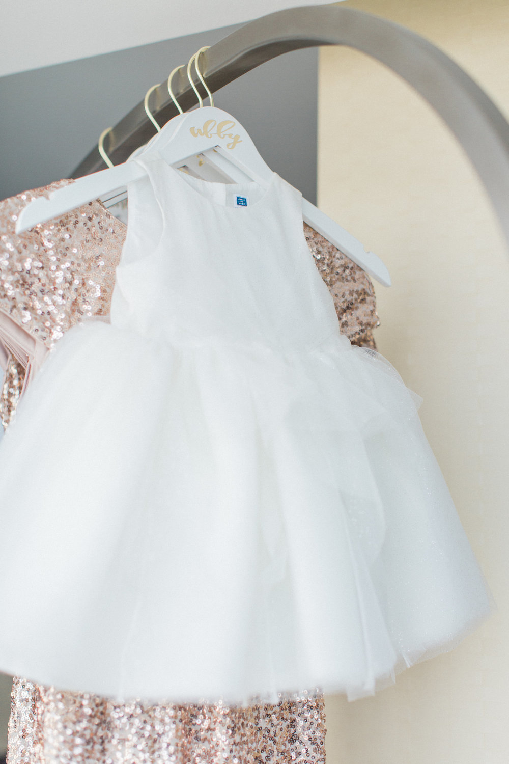 Maryland Wedding Flower Girl Dress