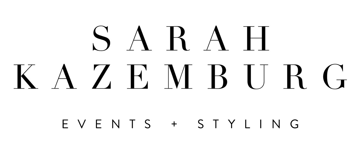 Sarah Kazemburg Events & Styling | DC & Maryland Wedding Planner