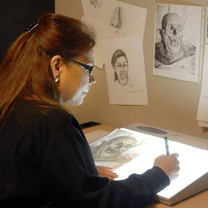 Dr. Curtit is a volunteer forensic artist for the Doe Network, providing hope to families and law enforcement to identify the unidentified deceased by providing law enforcement with a sketch that can be featured in newspapers and news broadcasts.