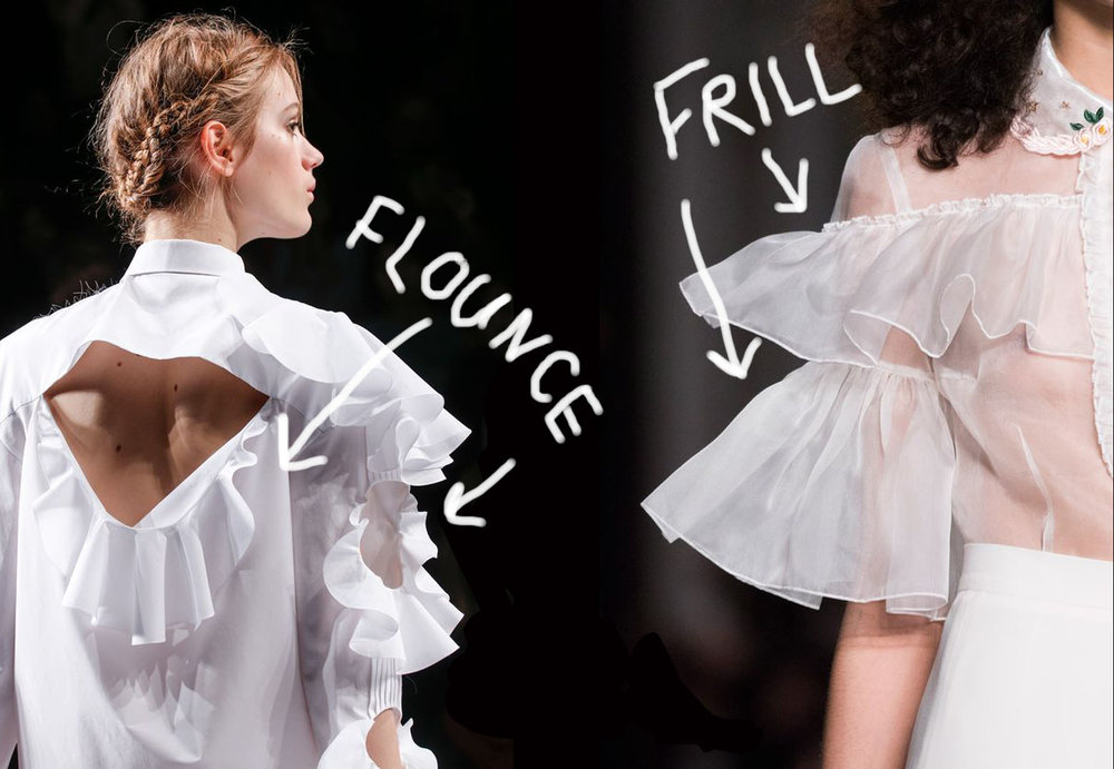 Paper Theory / Flounce vs Frills