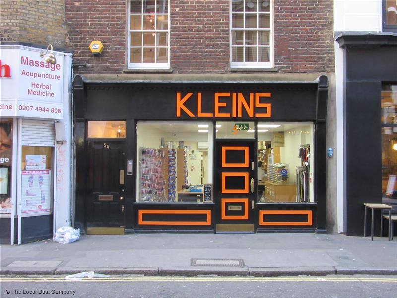 Old School Trim and haberdashery experts in Soho London, Kleins.