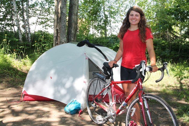Adventurous Anne and her caribou stop in Sault for a 'spa day' - July 5, 2017. Darren Taylor/SooTodayAnne Thomas says she doesn't consider herself a bicyclist, but she certainly could make that claim with justifiable pride.The Ottawa native, 21, ....read more