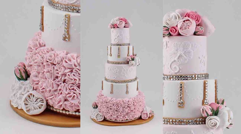 Light pink and white cake with rhinstones b.jpg