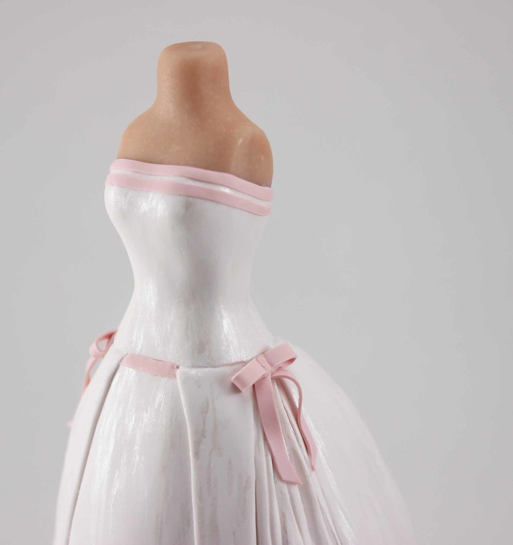 Detail of wedding dress with pink trim.jpg