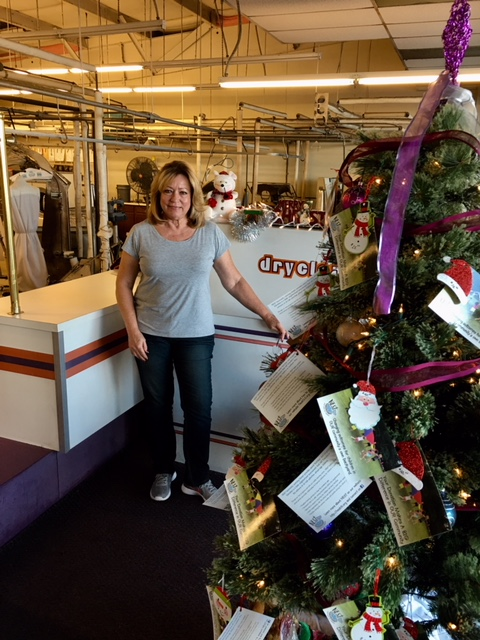 NEST's Giving Tree - Dry Cleaning Plus has a NEST giving tree!There is a variety of gift tags that willbe used to support NEST and theNEST-mobile.Drop off your dry cleaning while youare there!Stop in and check it out.8711 Fields Ertel Rd