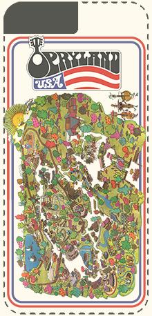 Opryland Usa Map.1972 Opryland Map Iphone Case Opryland Usa