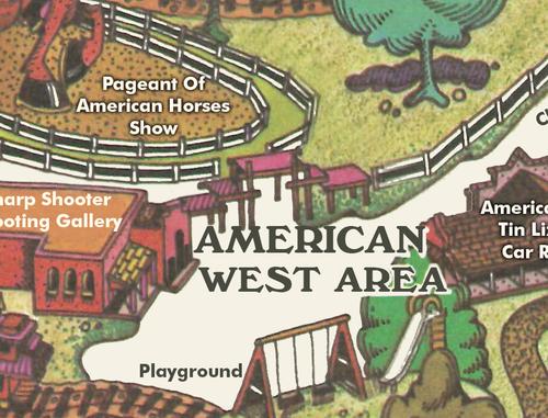 Opryland Usa Map.1972 Opryland Map Print Opryland Usa