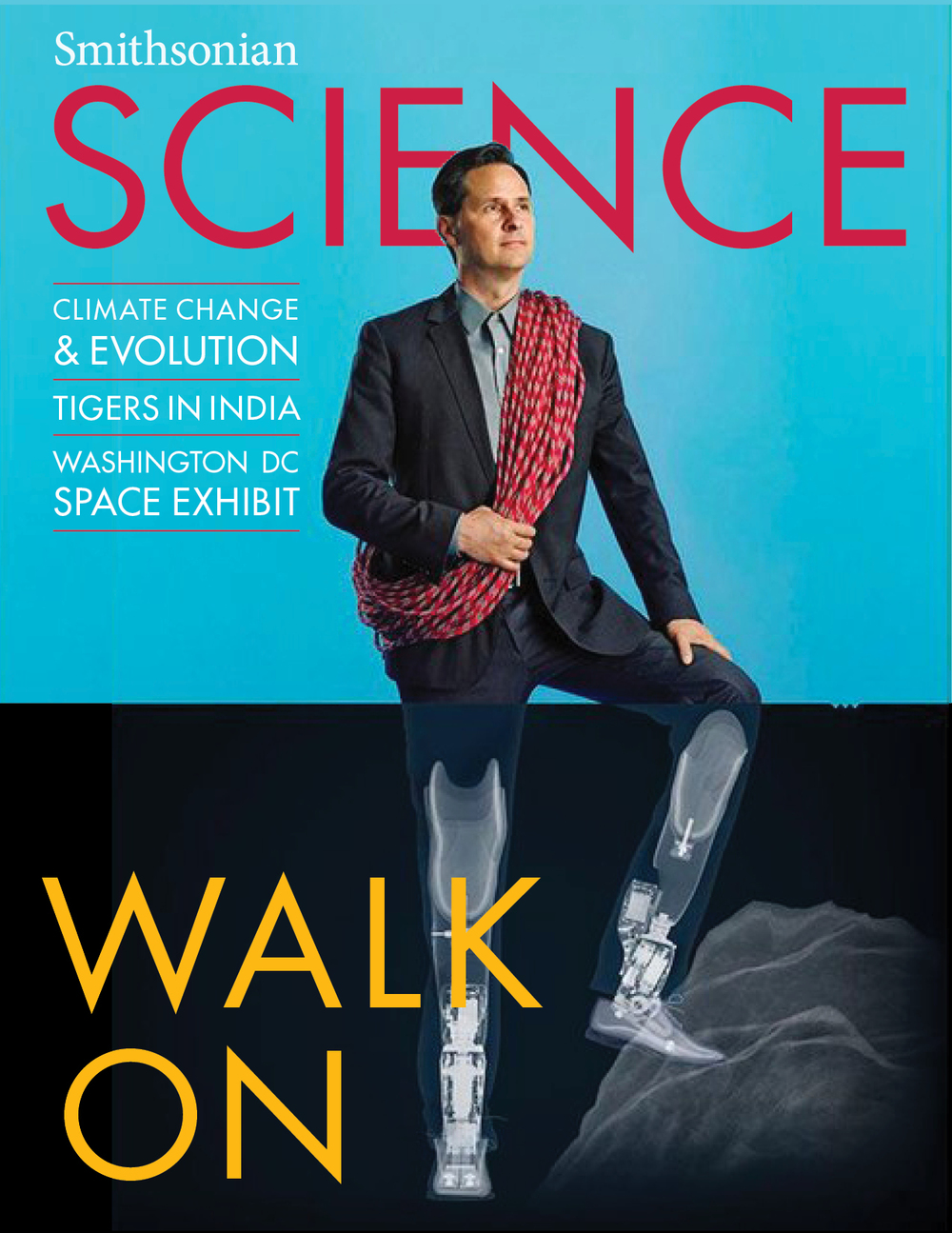 Smithsonian SCIENCE magazine design