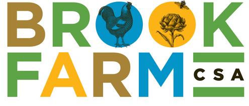 Brook Farm logo by Carla Rozman