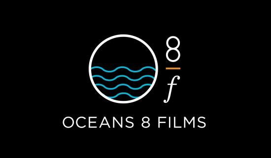 Jon Bowermaster Oceans 8 Films Logo Design Graphic Design Carla Rozman