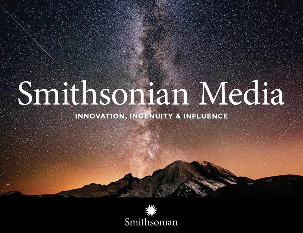 Smithsonian Carla Rozman Graphic Design business presentation design