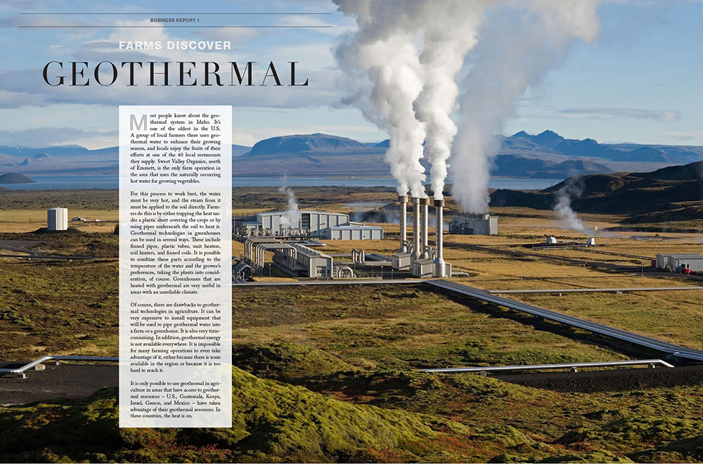 Modern Farmer Prototype Magazine Design Geothermal Farms