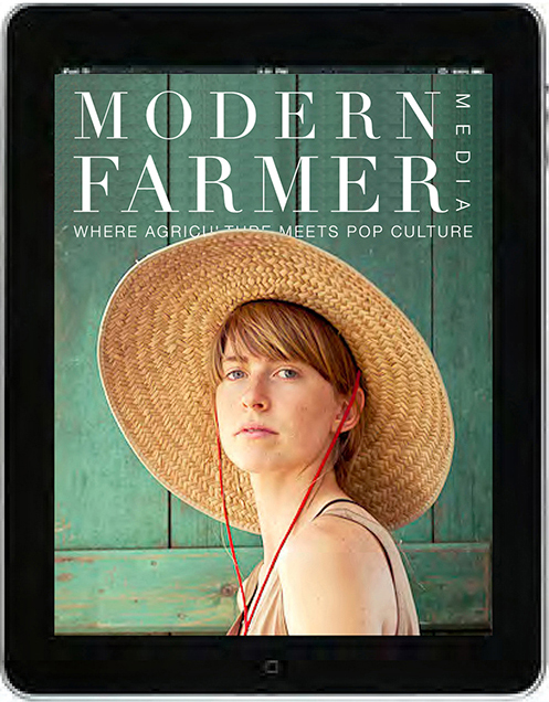 Modern Farmer Prototype Magazine Design iPad Media Brand