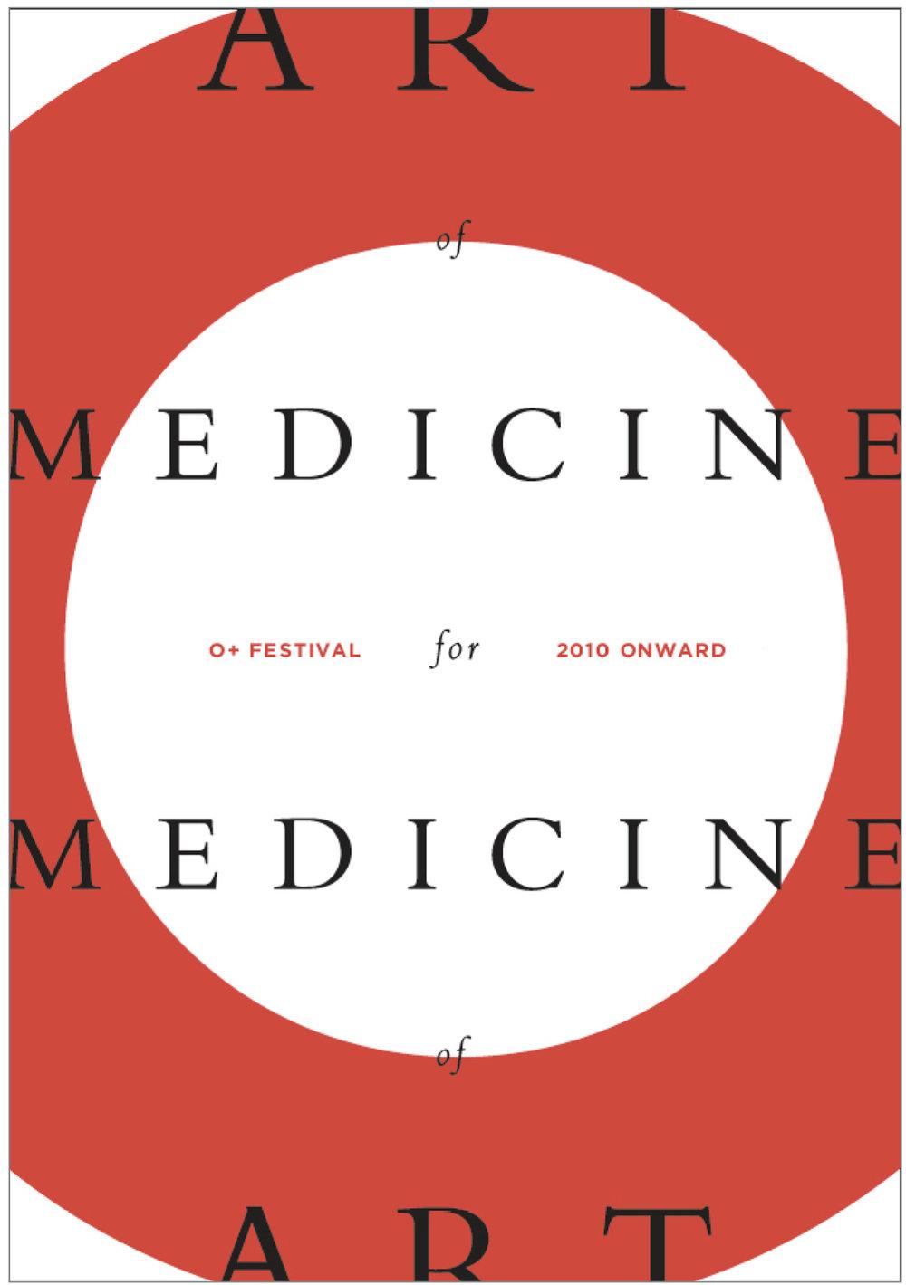 O+ festival art music health carla rozman graphic design