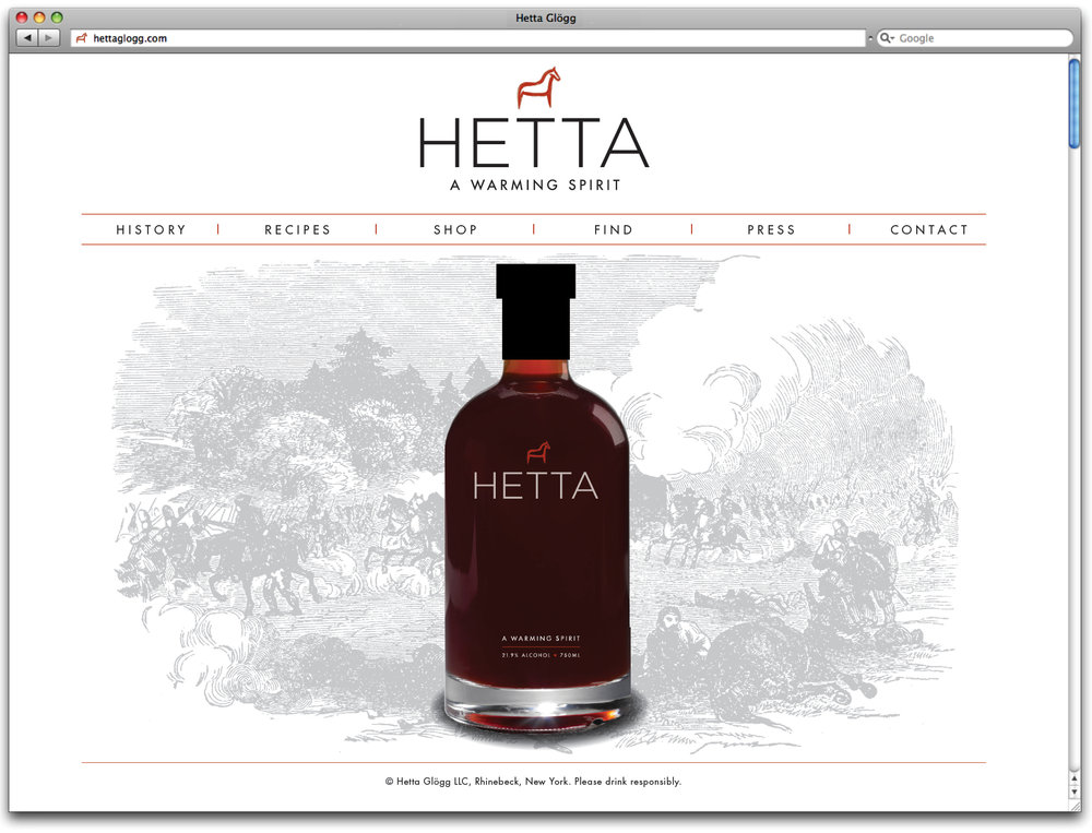 hetta glogg website design by carla rozman