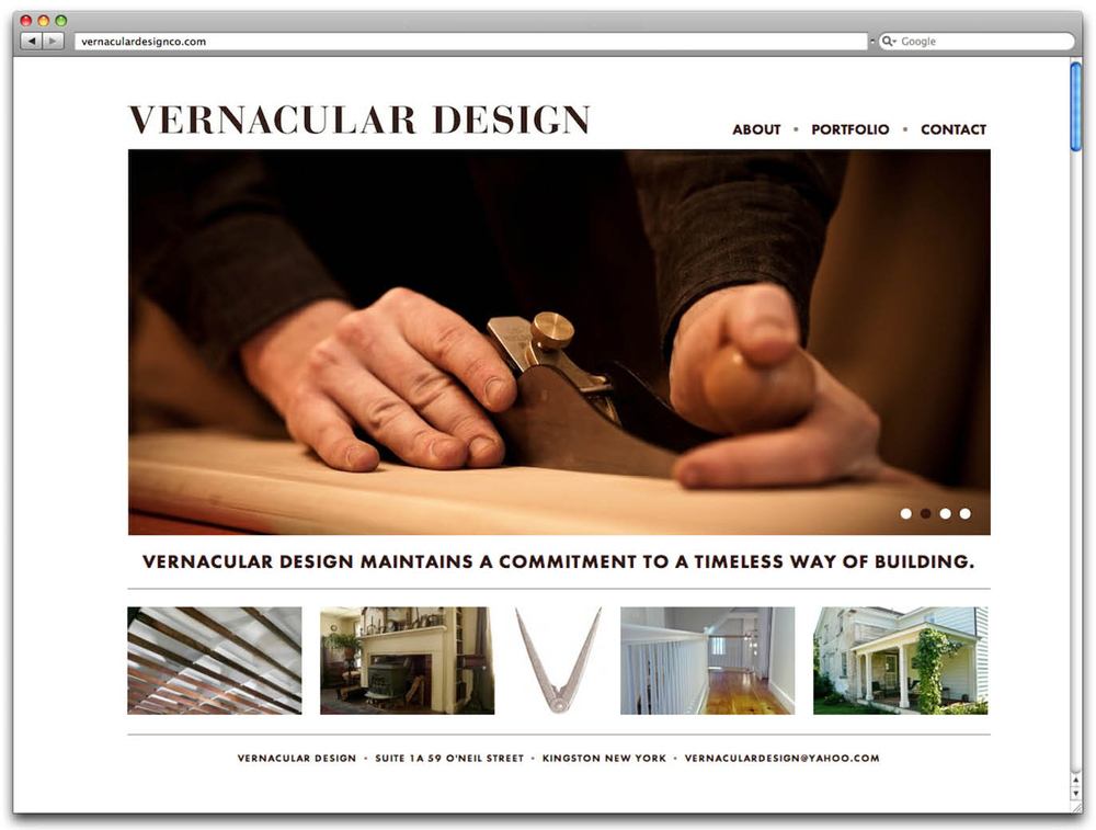 jack decker vernacular design co hudson valley web design woodworking build
