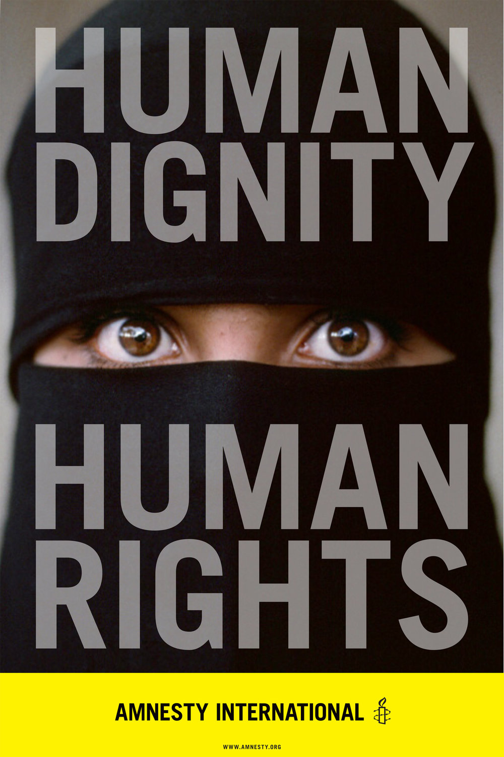 amnesty international poster carla rozman woody pirtle steve mccurry photography