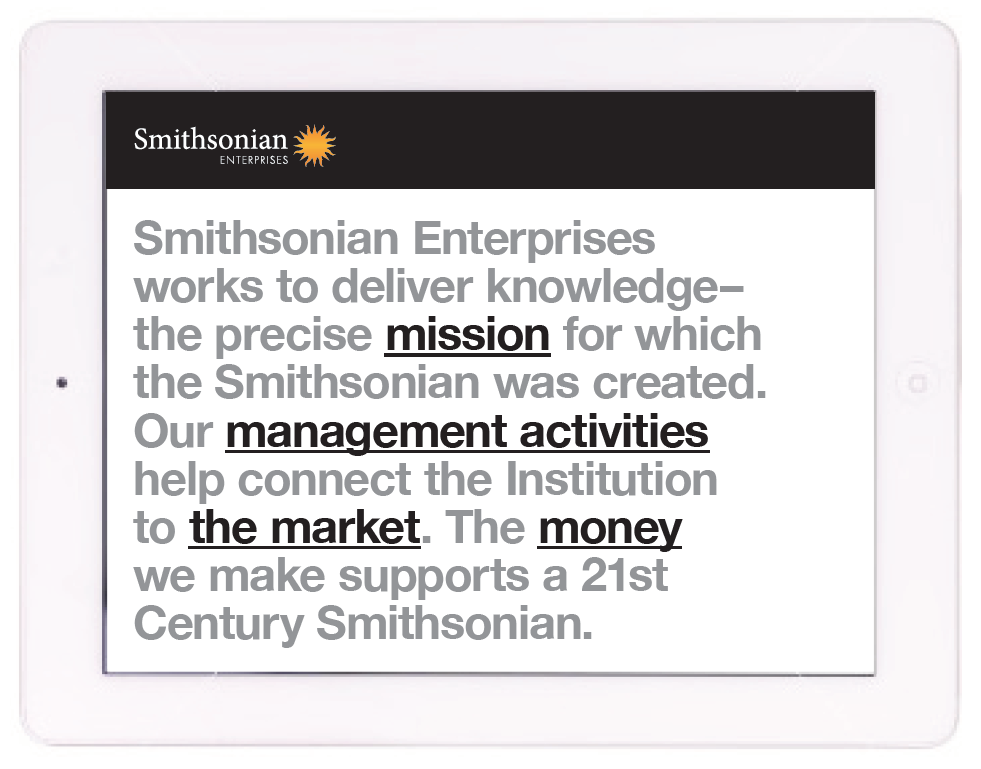 Smithsonian Website Design