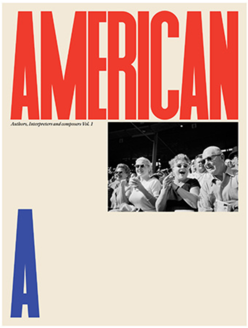 American, designed by Matt Willey, Art Director of New York Times magazine