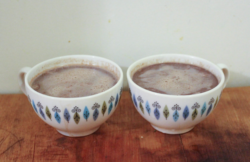 Xocolatl (Mexican hot chocolate)