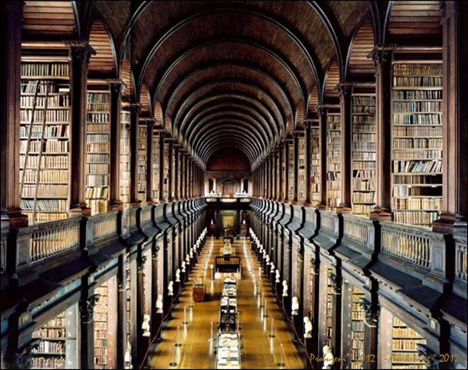 Trinity College Library-Dublin, Ireland