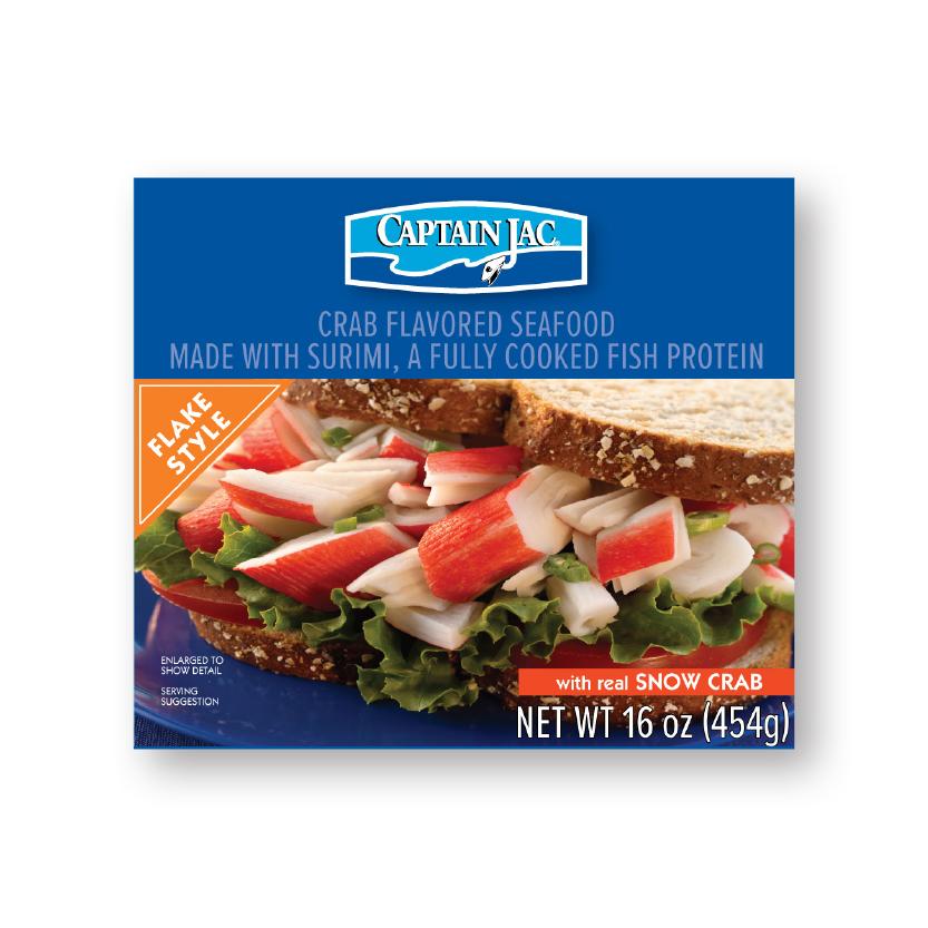 Traderock - Captain Jac Crab Flavored Seafood