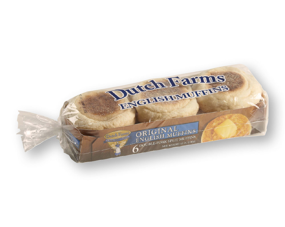 Traderock - Dutch Farms English Muffins Original