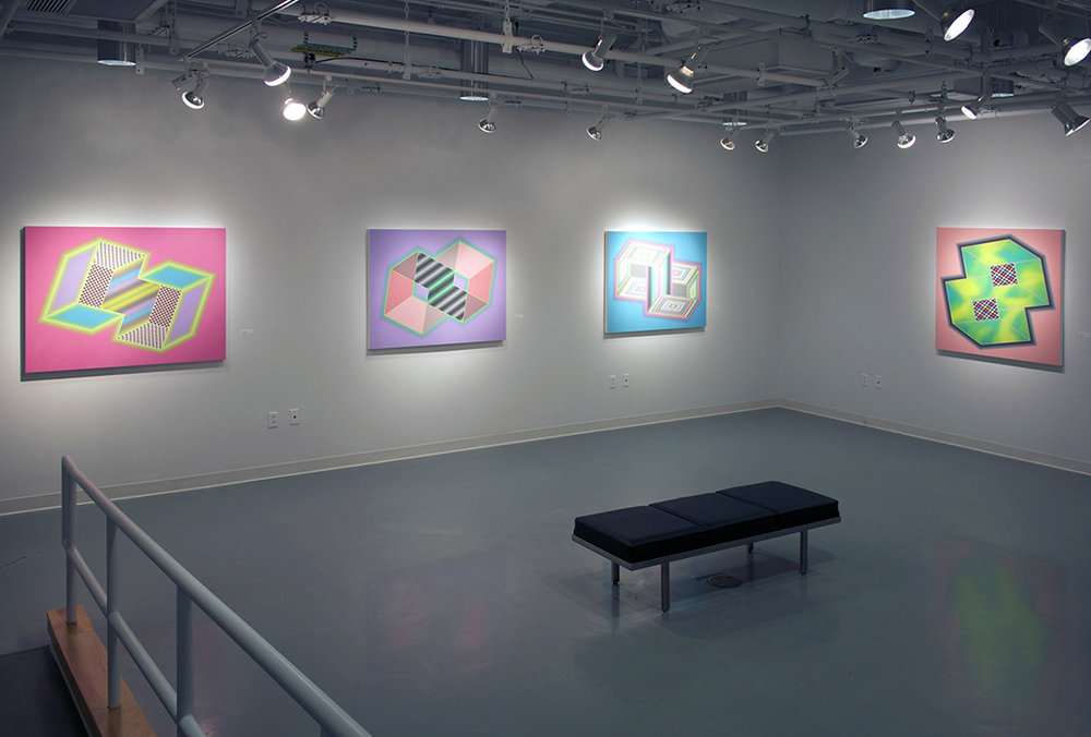 """Dowd Gallery   Solo Exhibition """"Fade to Gray""""   The State University of New York   @ Cortland   2016"""