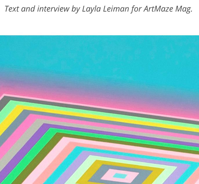 Art Maze Magazine, Artist Feature | Interview