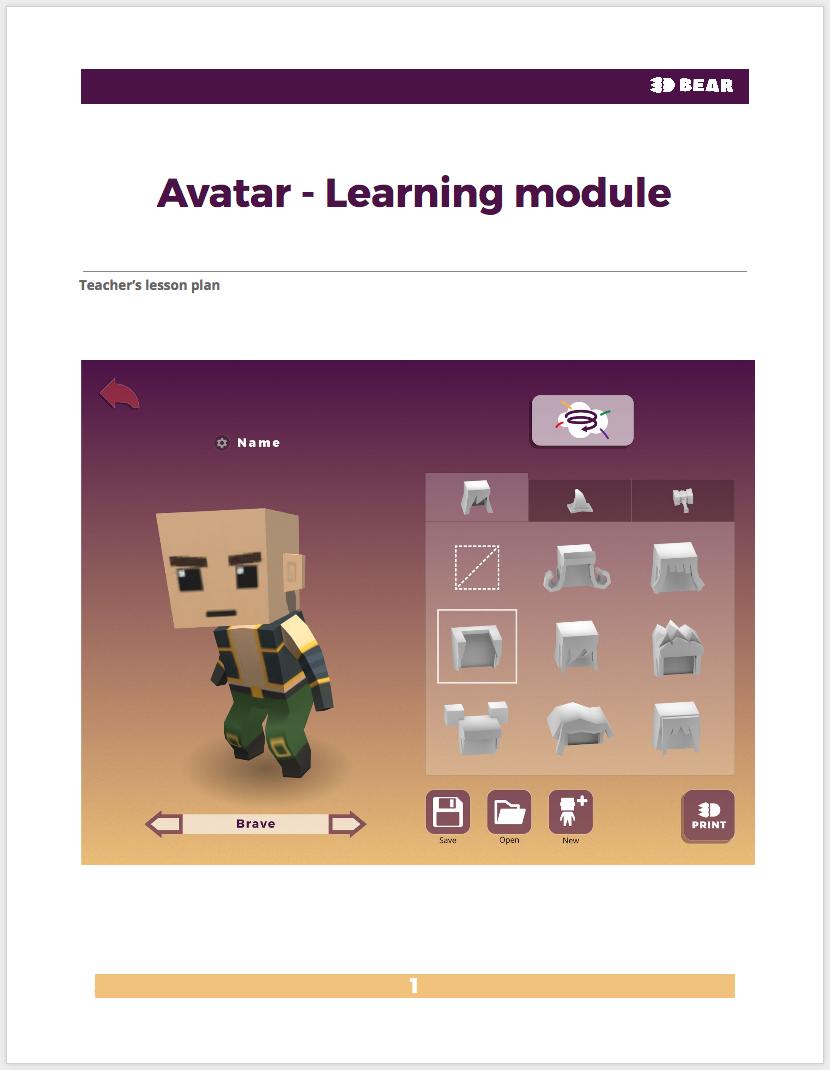 ....Avatar - Oppimisympäristö..Avatar - utbildningsmodul..Avatar - Lesson plan....