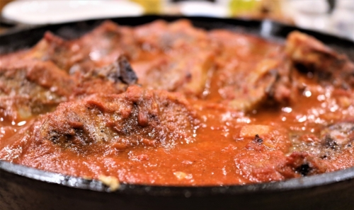 Braised lamb and other dishes that require time on the stovetop and in the oven are great uses for cast iron.