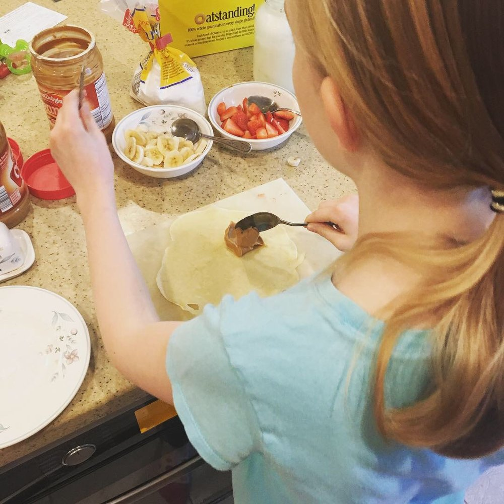 kids are more likely to eat something they helped to prepare! -