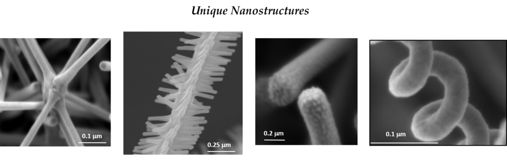 Unique Nanostructures