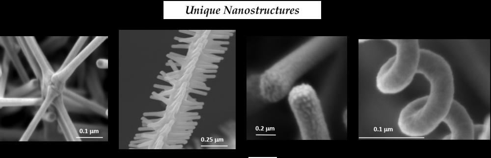 Unique Nanostructures