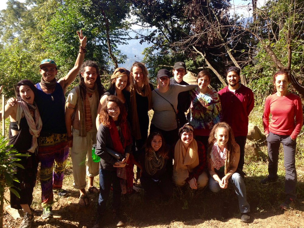 This retreat brought together a unique group of people with a variety of backgrounds, interests, and reasons for attending, all with lots of love and energy to share.