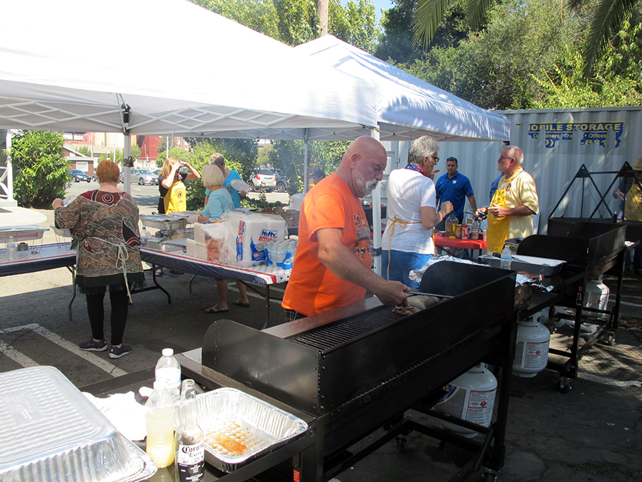 Pictured: Lions Club Barbecue 2016