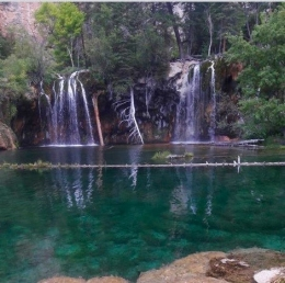 Hanging Lake by Glenwood Springs CO