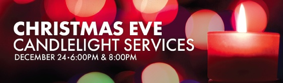 The candlelight service is a very special service. Families come and take a moment from all the hustle and bustle of the Holiday to experience Christmas with the glorious music of the season. It's a time to focus on the true meaning of Christmas.